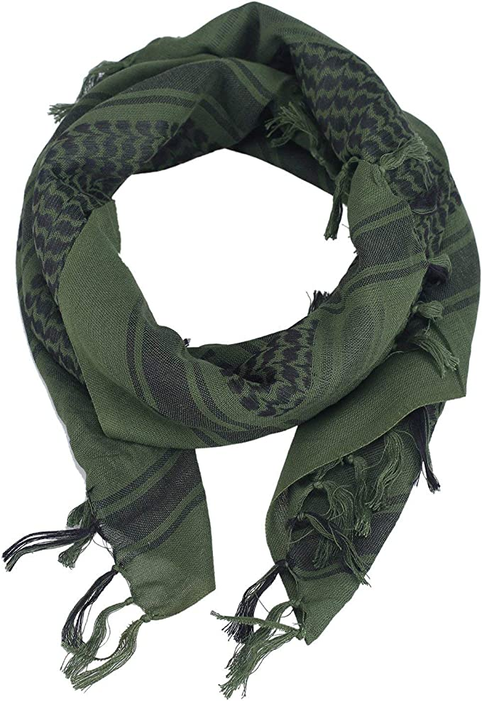 OneTigris - Pañuelo palestino de algodón, kufiyya para Cubrir la ...