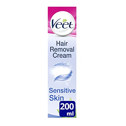 Veet Crema Depilatoria, Piel Sensible - 200 ml