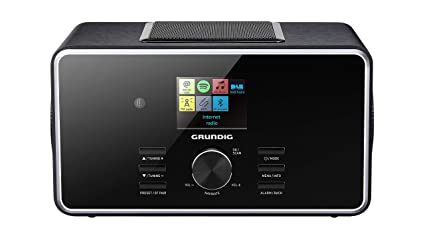 Grundig DTR 6000 2.1 BT Dab+ Internet Digital Negro - Radio ...