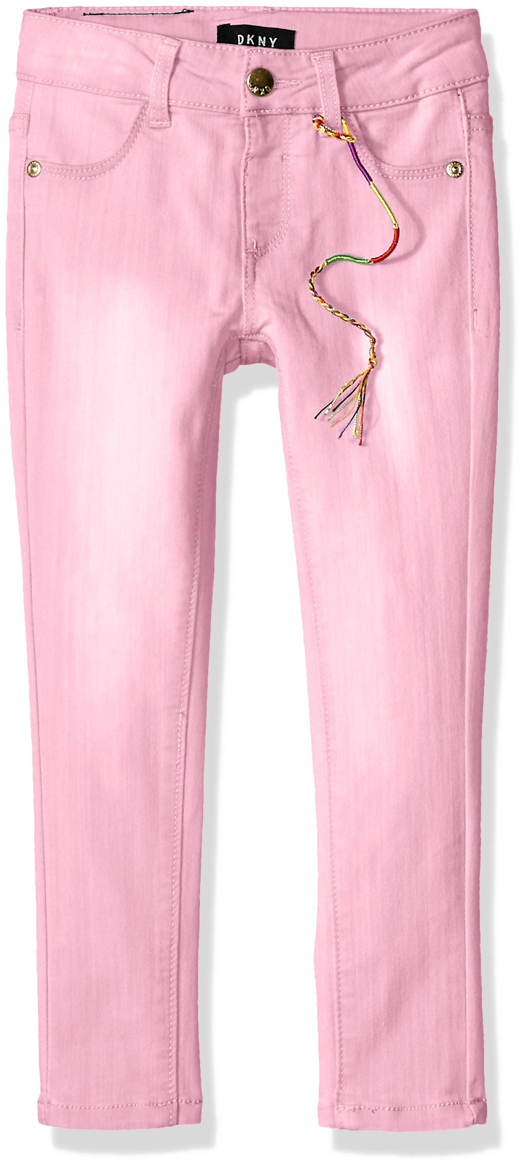 DKNY Big Girls' Jean, Colored Jegging Lilac Sachet, 8