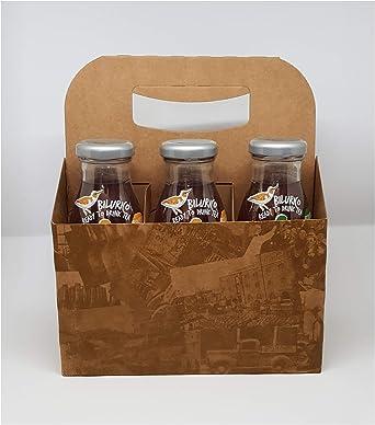 Pack 6 botellas: 2 de infusión de frutas, 2 de té verde y 2 de té ...