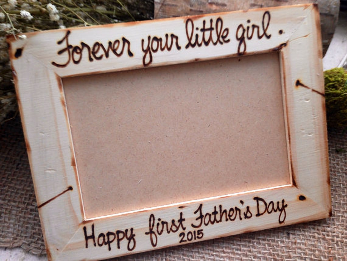 First Father's Day Frame from Daughter