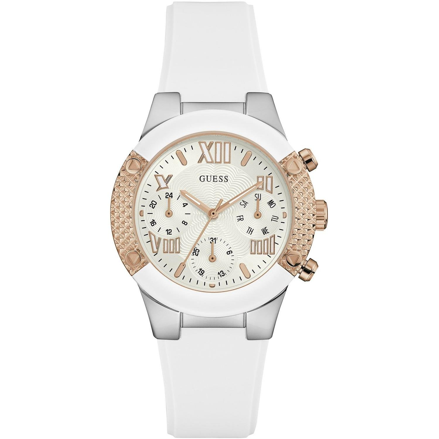 Guess Women s Quartz Watch W0773L1 with Metal Strap