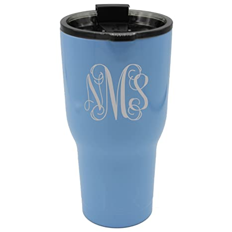 0ac6d77dcd9 Image Unavailable. Image not available for. Color: Custom RTIC 30 oz  Tumbler Cup - Personalized and Monogrammed ...