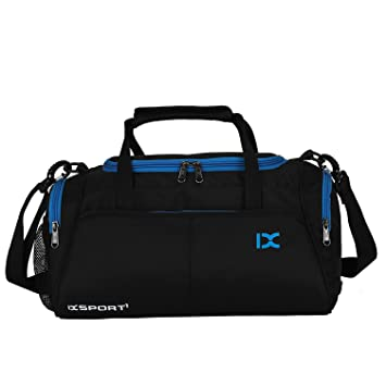 ec78f86707f47 suzone Oxford Fitness Tasche Freizeit Tasche Messenger Bag Turnbeutel  Sports Holdall Duffel Bag Travel mit Schuhfach