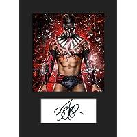 Finn Balor WWE Nr. 1 Foto mit Passepartout, A5, signiert