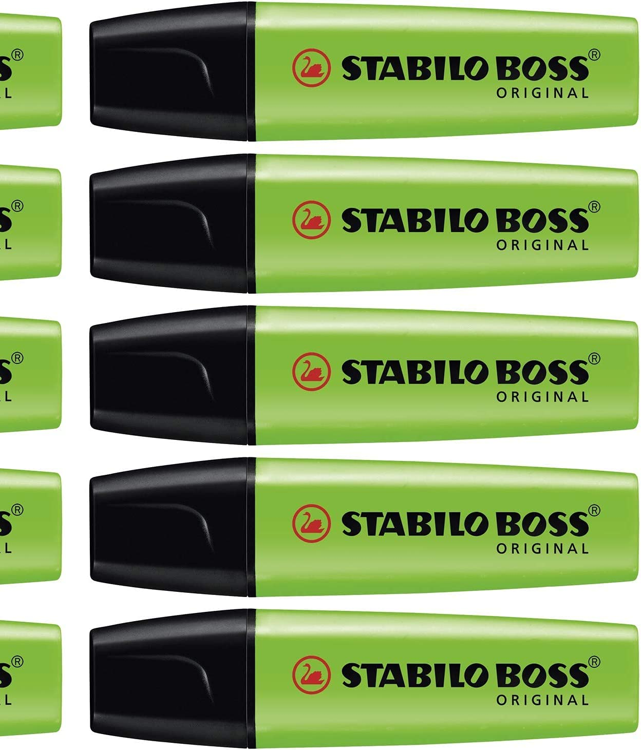 Stocks of stabilo boss highlighters 30 New Colors Yellow Blue Green Orange