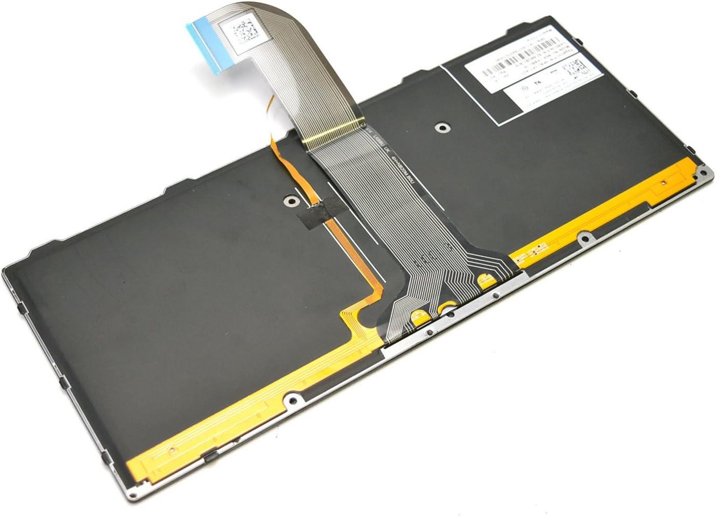 New 92HF3 Genuine OEM Dell LATIN Spanish Teclado Latitude Rugged 14-5404 7404 12-7204 7214 Rugged-Extreme Non-Sealed Backlit 82 Keyboard QWERTY NSK-LKBBU-1E Multimedia 9Z.NB2BU.B1E 0KNJ-1A1LA03 LAC