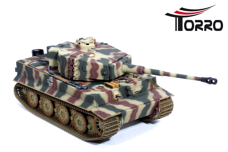 TORRO 5223 Char RC Tiger 1 avec Fond en m/étal Derni/ère Version BB