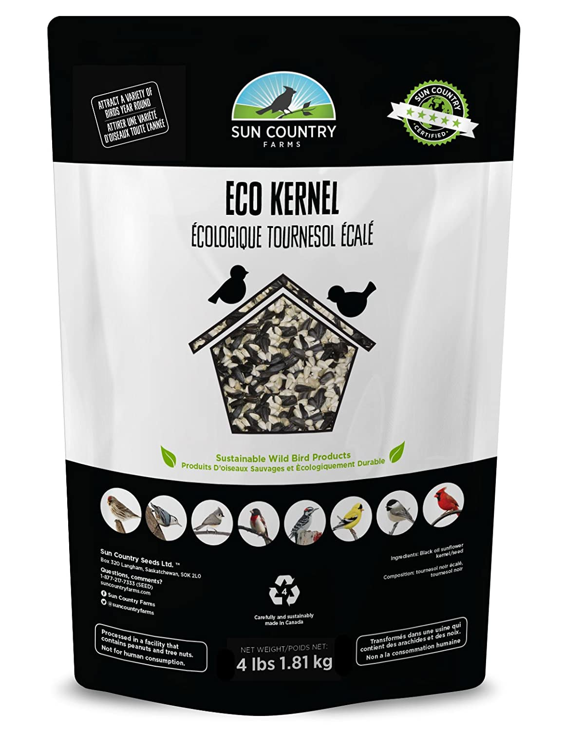 Eco Kernel Bird Seed Sun Country Farms