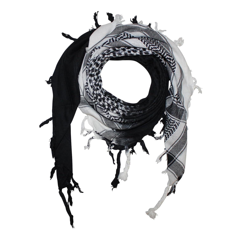 Superfreak - Fazzoletto da collo - Donna diagonal weiß/schwarz taglia unica