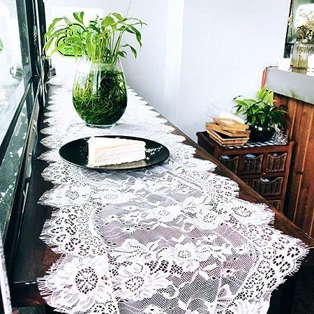 300 cm x 36 cm Vintage de boda encaje mesa Top Layout Camino ...