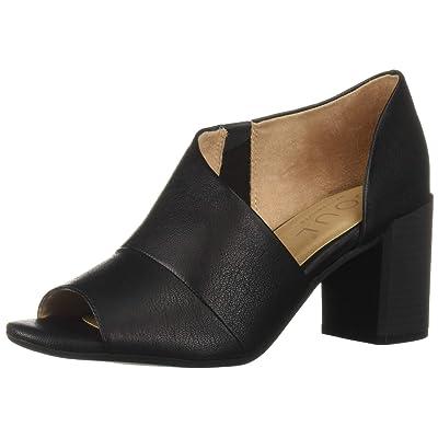 SOUL Naturalizer Women's CHLOE Shoe, BLACK, 9 W US | Heeled Sandals