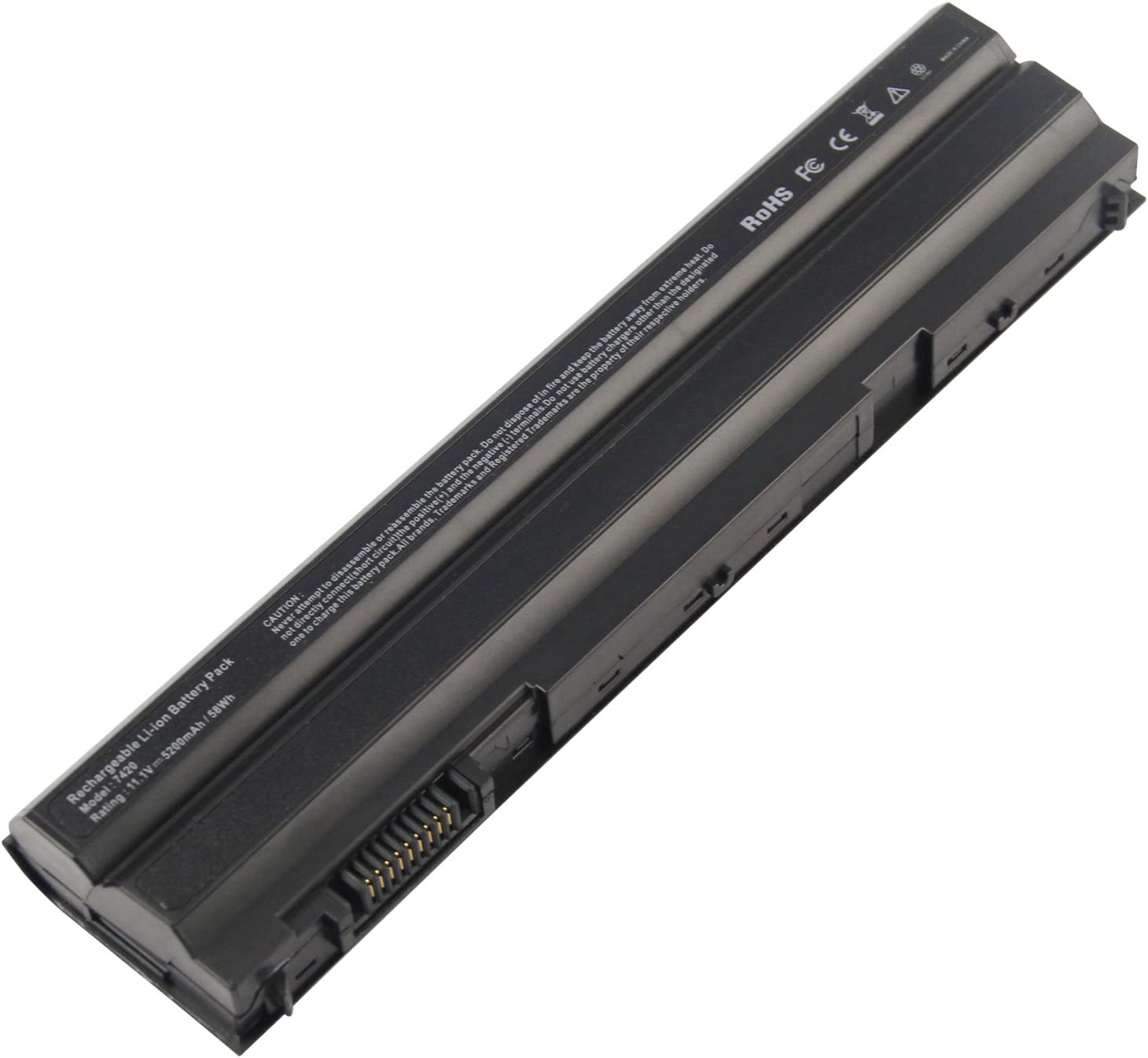 T54FJ Laptop Battery for Dell Latitude E5420 E5430 E5520 E5530 E6420 E6430 E6520 E6530 Inspiron 4420 5420 5425 7420 4520 5520 5525 7520 4720 5720 7720 M421R M521R N4420
