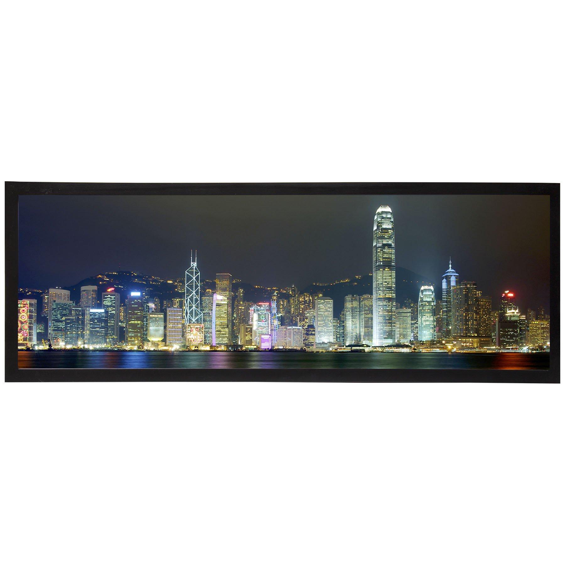 Neil Enterprises, Inc Black Panoramic Picture Frame (24'' x 8'')