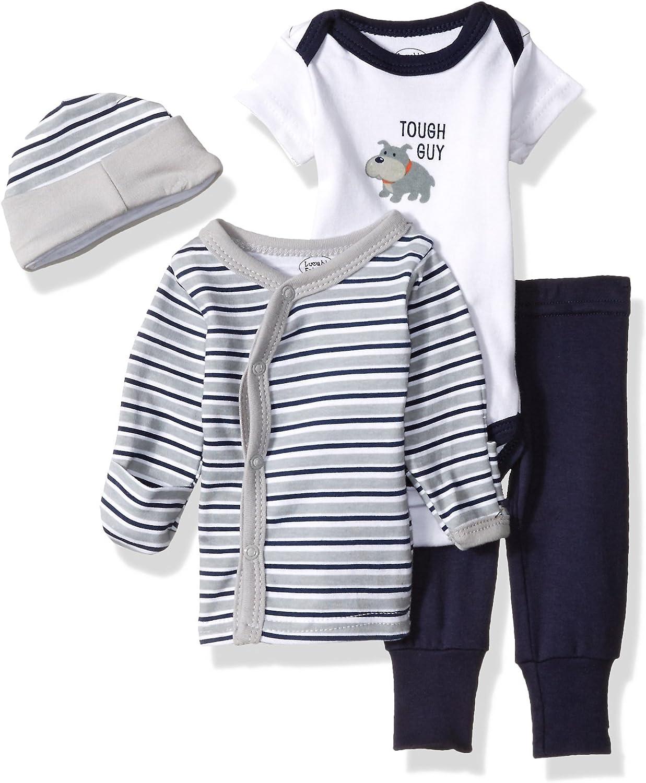 Luvable Friends Baby Cotton Preemie Layette Set