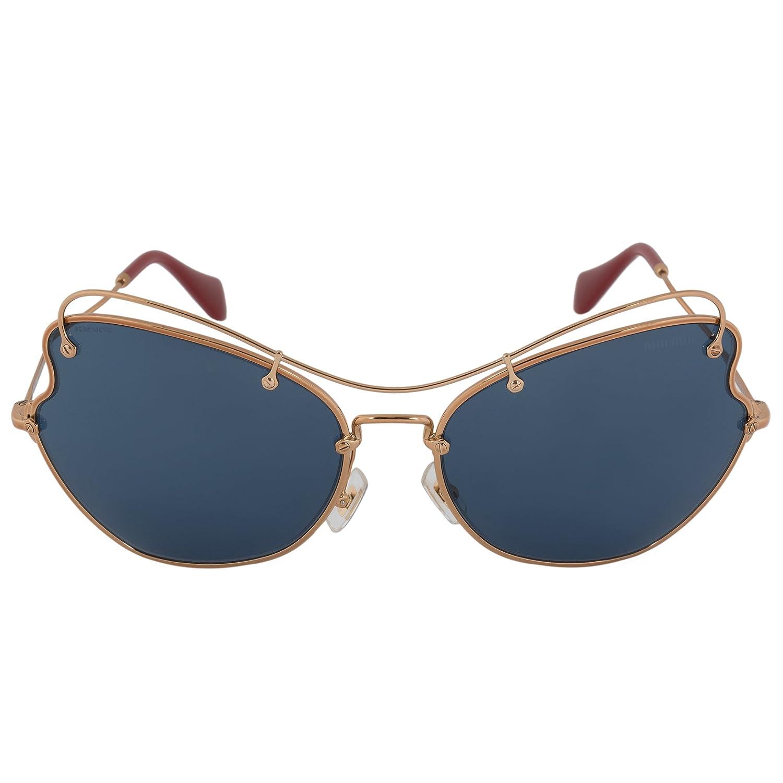 MIU MIU Sunglasses MU 56RS 7OE1V1 Antique Gold 65MM