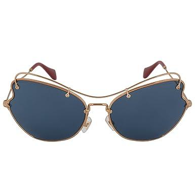 28b72e6b7832 Image Unavailable. Image not available for. Color  MIU MIU Sunglasses MU  56RS 7OE1V1 Antique ...