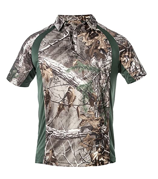 5fcf2d192 Men's SS Active Polo Shirt Realtree® at Amazon Men's Clothing store: