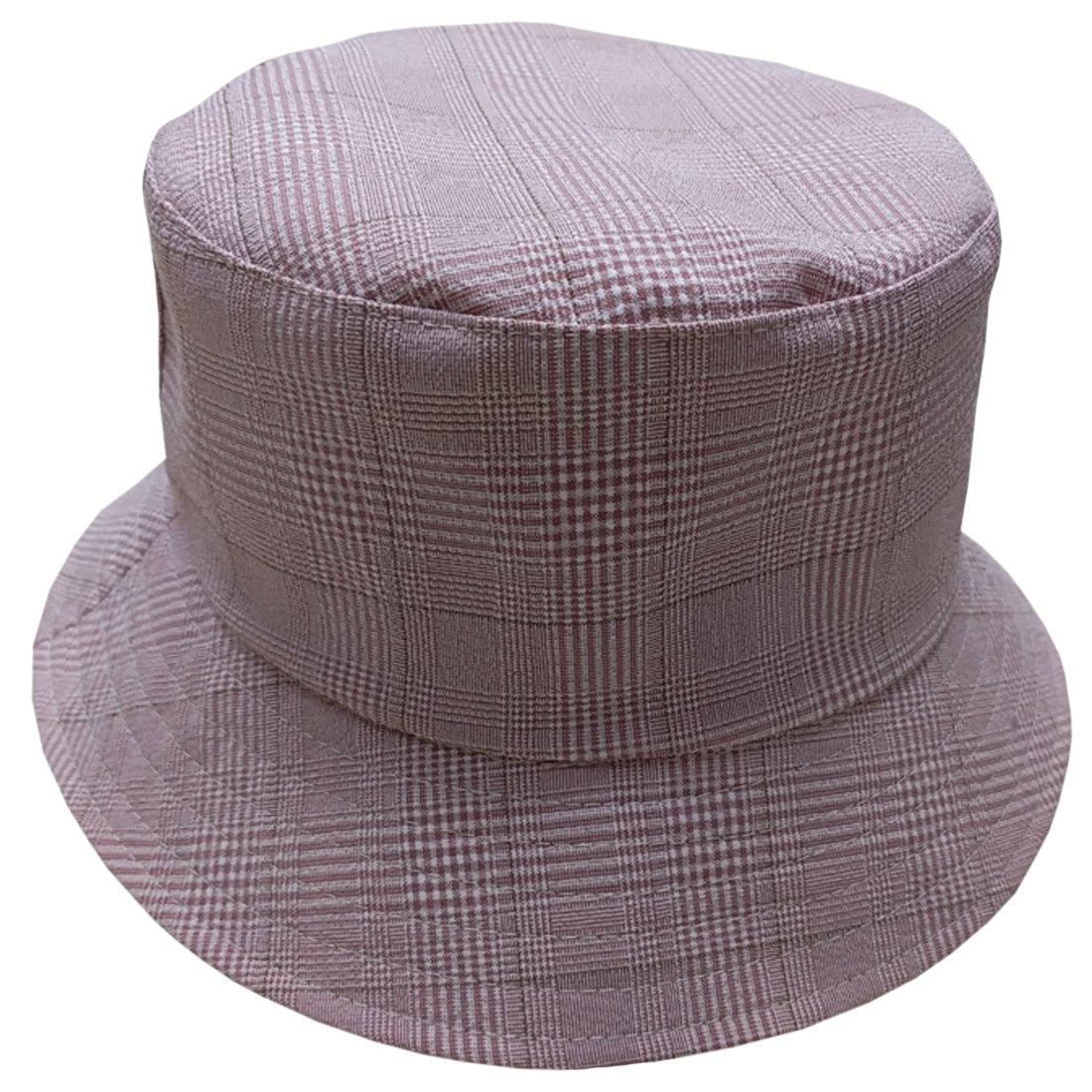 ACVIP Womens Banana Flamingo Print Fishing Bucket Hat Cap Packable