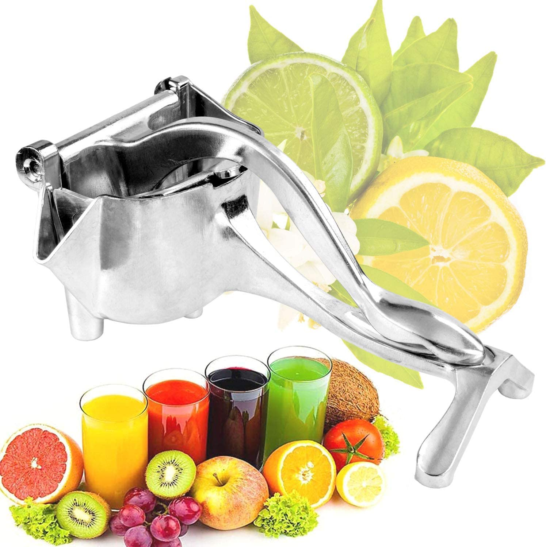 TAISHAN Heavy Duty Manual Fruit Juicer Press Squeezer,Hand Squeezer,Premium Quality Metal Aluminum alloy Lemon Squeezer,Manual Citrus Press Juicer, Lemon Lime juice, orange juice, apple juice