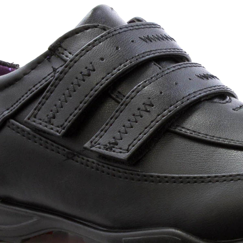 US Brass - Zapato de ajuste fácil, negro, para niño US Brass - Talla 6 UK / 39.5 EU - Negro