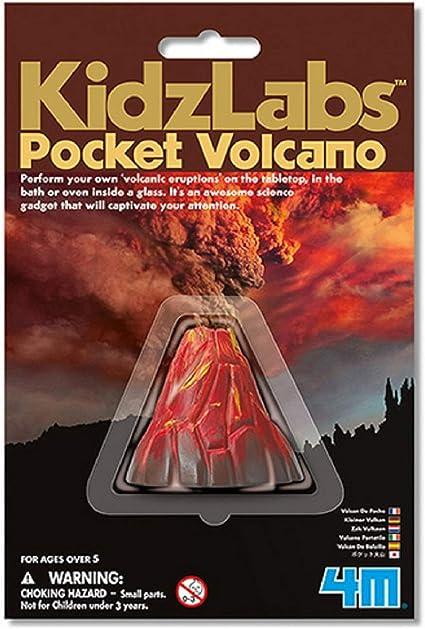 Hape- Kidzlabs Volcán Pocket, Multicolor (GG2753NHM): Amazon.es: Juguetes y juegos