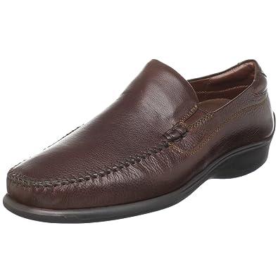 Neil M Men's Rome Slip-On Loafer,Walnut,7 EEE