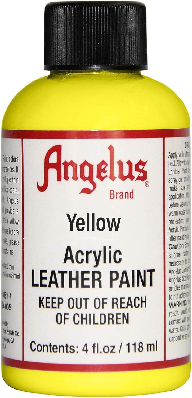 Angelus cuero amarillo 4 oz