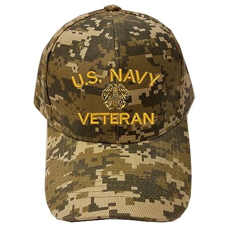 29c2978168d Amazon.com  Military NAVY U.S. Navy Veteran Digital Camo Baseball ...