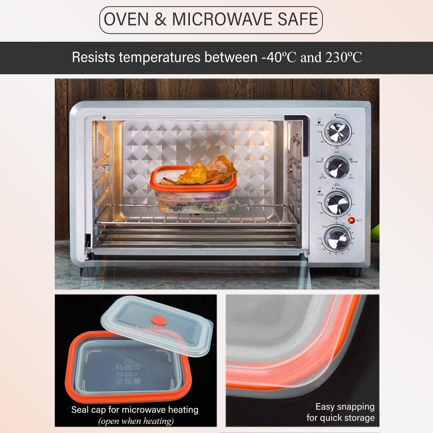 Crisolux Estuche Vapor microondas Silicona vaporera microondas Papillote para cocinar al Vapor Lavado facil al lavavajillas (1-2 Personas 600ml): Amazon.es: Hogar