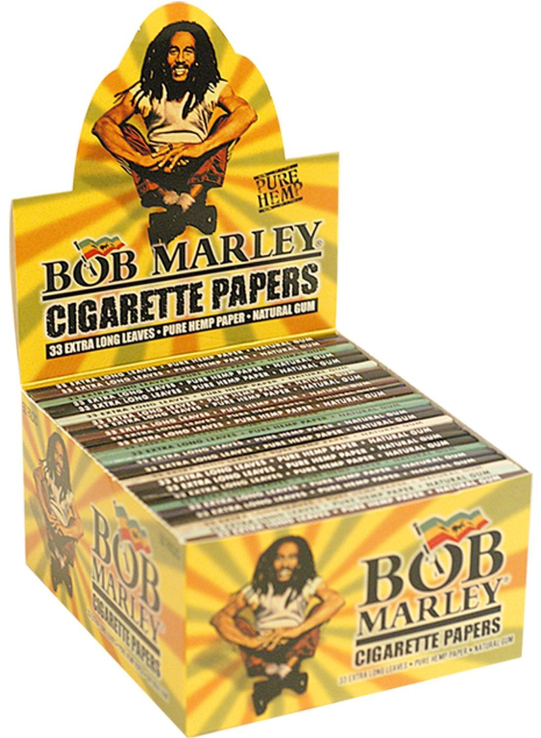 amazon com bob marley king size cigarette rolling papers 4 packs