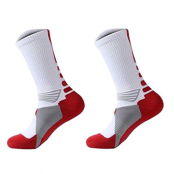 Reveryml Hombre Calcetines 1 par calcetines de baloncesto atletismo calcetines deportes al aire libre calcetines media: Amazon.es: Ropa y accesorios