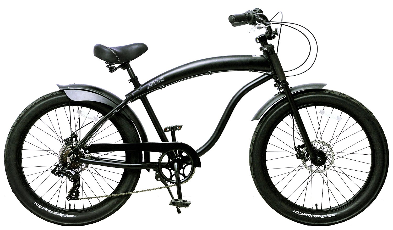 Fito Men's Modena GT-2 Aluminum Alloy 7-Speed Beach Cruiser Bike