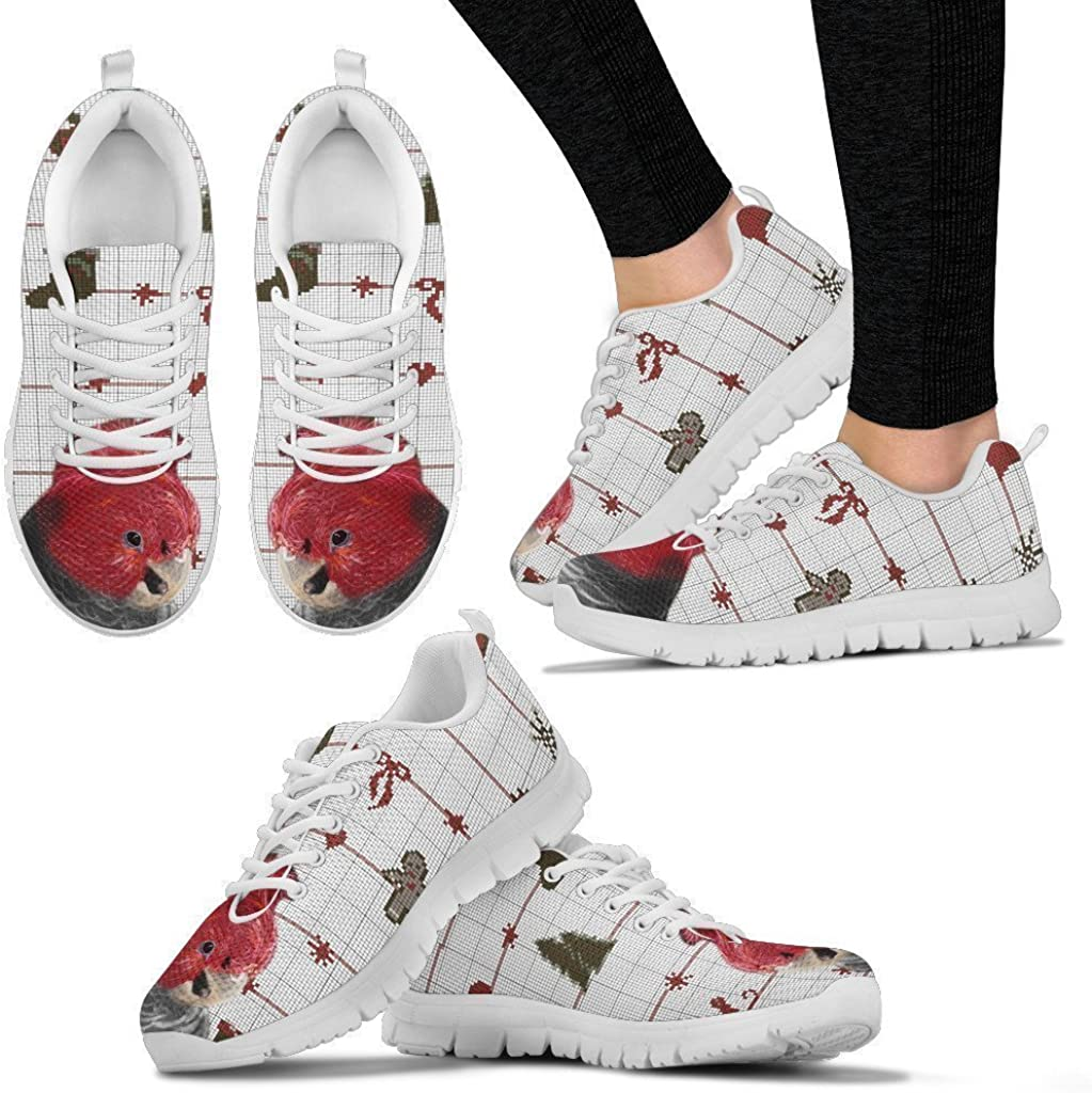 Gang-Gang Cockatoo Parrot Running Shoes for Men-Casual Comfortable Sneakers Running Shoes