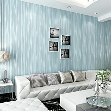 Kinlo Textured Wallpaper, Modern Non Woven 3D Wave Pattern Environmental  Protection Wallpapers Bricks For Part 82