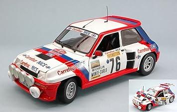 Universal Hobbies UH4553 Renault 5 Turbo N.76 Montecarlo 1982 TOUREN-Alric 1: