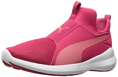 PUMA Womens Rebel Mid WNS Love Potion-Rapture Rose 75 M US