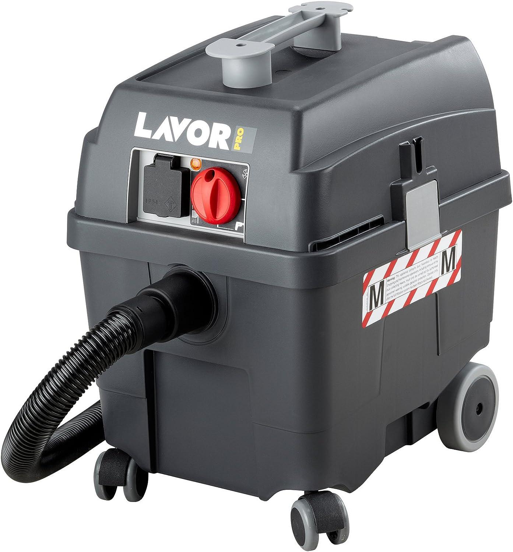 Lavor 703115 aspirador agua/polvo, 1400 W, gris oscuro, 35 x 34 x ...