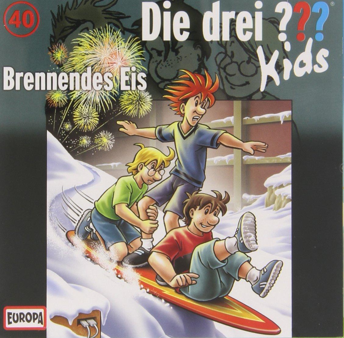 Die drei ??? Kids - Brennendes Eis (Folge 40)