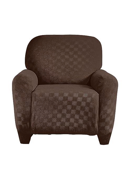 Sensational Madison Stretch Checkerboard Sofa Brown Spiritservingveterans Wood Chair Design Ideas Spiritservingveteransorg