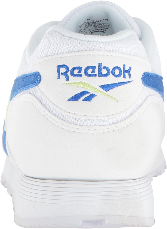 Reebok Rapide, Scarpe da Ginnastica Uomo White Vital Blue Lemon Ze