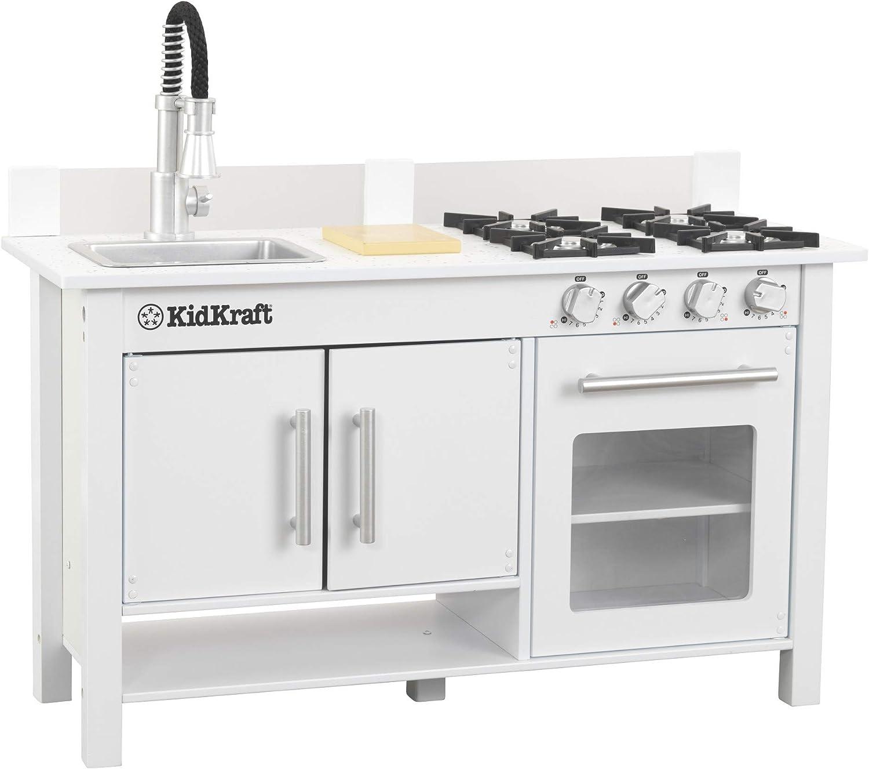 Kidkraft Little Cook S Work Station Kitchen White 53407 Toys Games Amazon Com