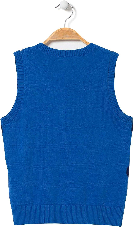 bossini Prime Boys V-Neck Patterned Sweater Vest