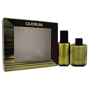 Quorum - Estuche de regalo Eau de Toilette, Multicolor (ANTQUOM92100001): Amazon.es