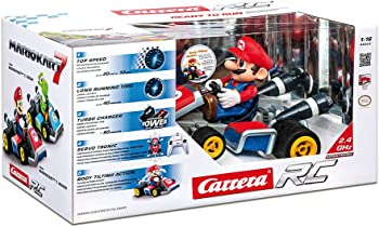 Carrera 7 Mario 2.4 Ghz 1:16 Scale Servo Tronic Kart