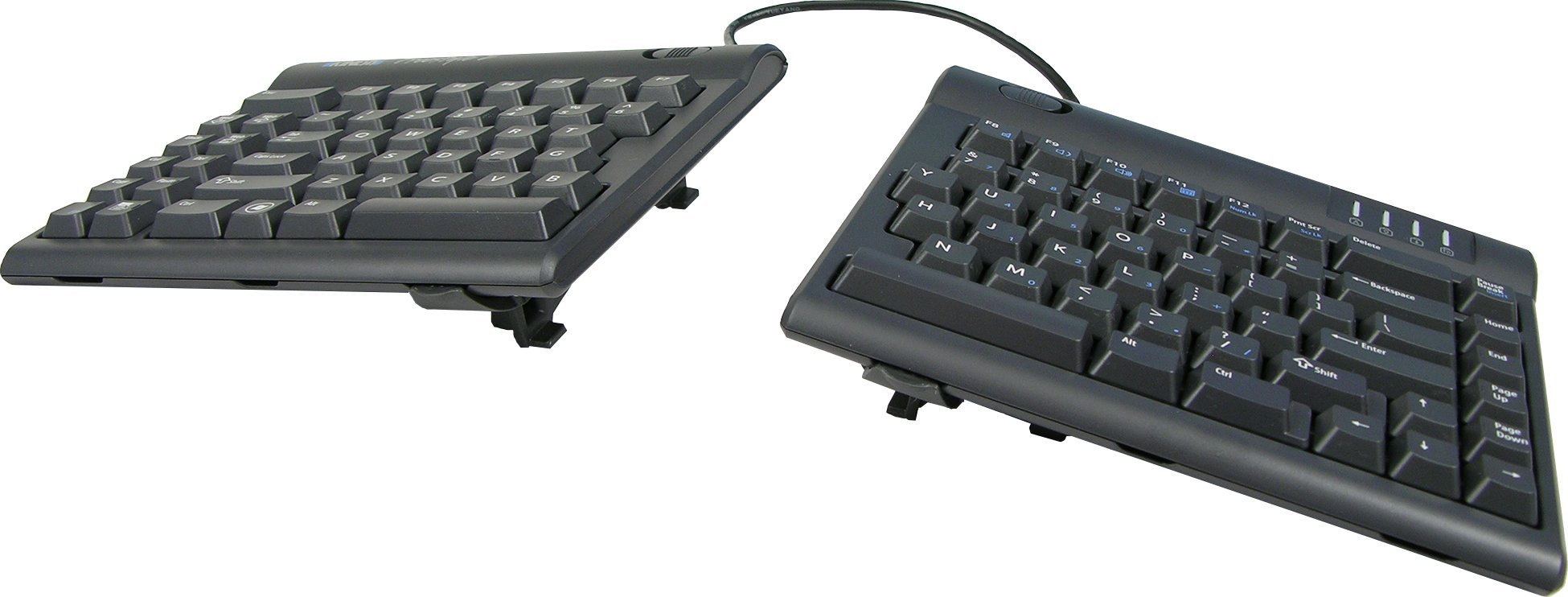 Kinesis Freestyle2 Ergonomic Keyboard w/ V3 Lifters for PC (9'' Separation)