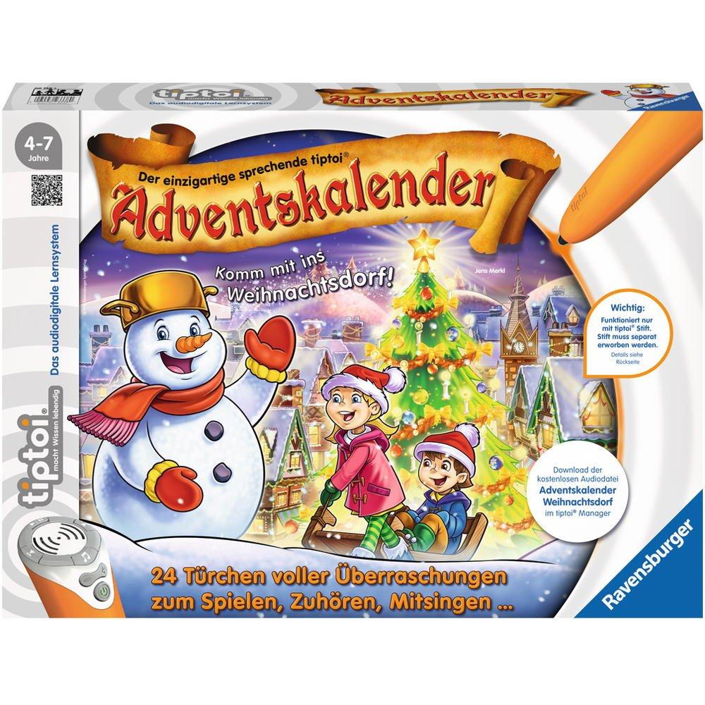 Ravensburger 00778 - tiptoi Adventskalender - Das Weihnachtsdorf Ravensburger Spieleverlag