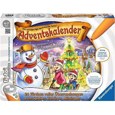 Calendario Avvento Ravensburger.Ravensburger 00778 Tiptoi Calendario Dell Avvento Natale Villaggio
