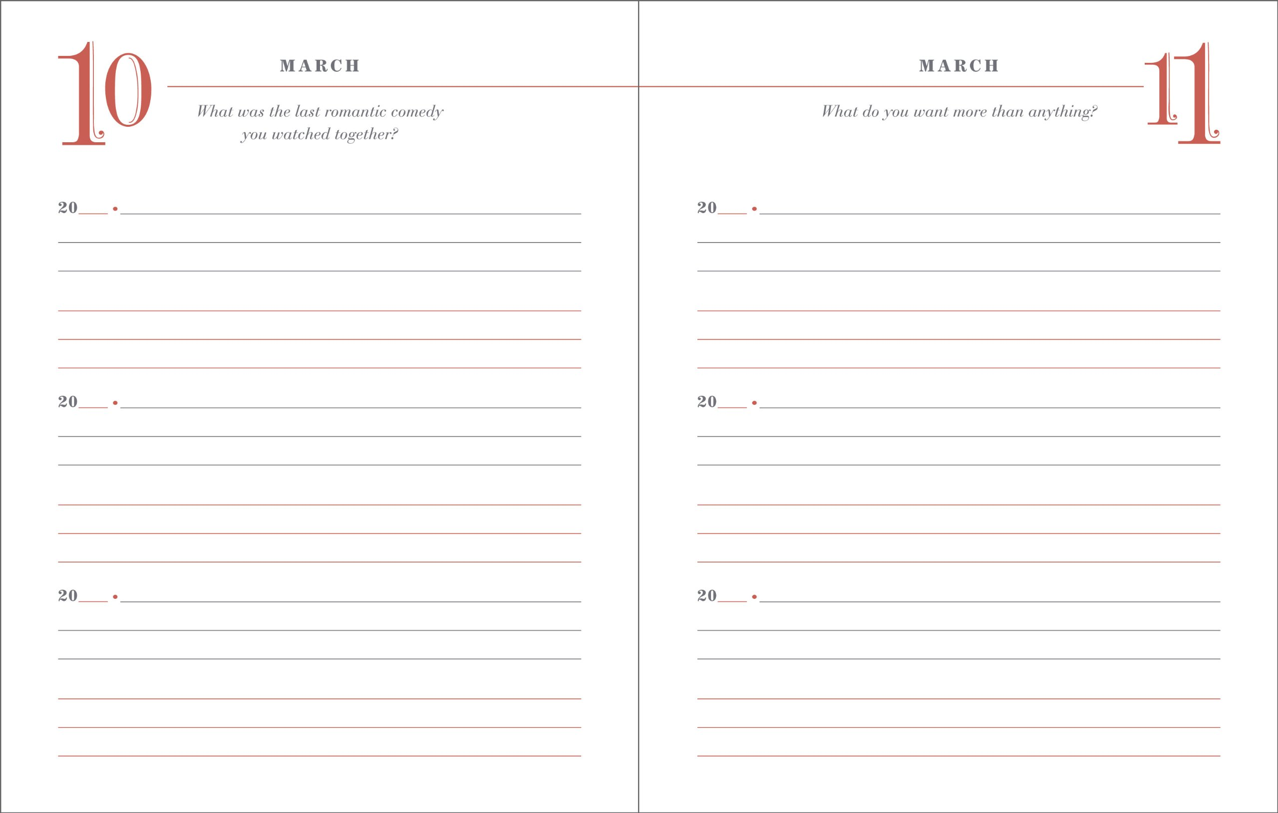 Our Q Amp A A Day 3 Year Journal For 2 People Diary Amazon border=